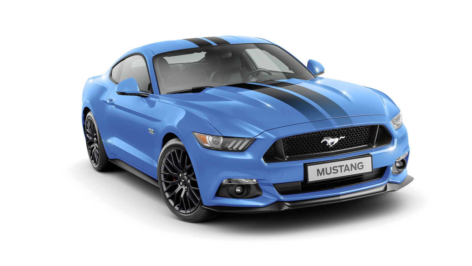 Ford mustang special editions will leave you black and blue