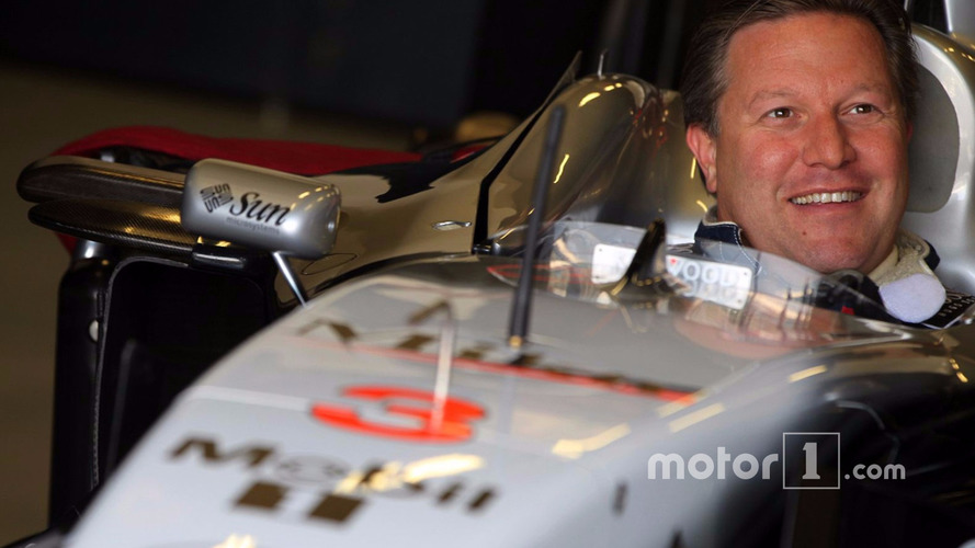 McLaren confirms Zak Brown as new executive director