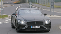 2018 Bentley Continental GT and GTC spy photos