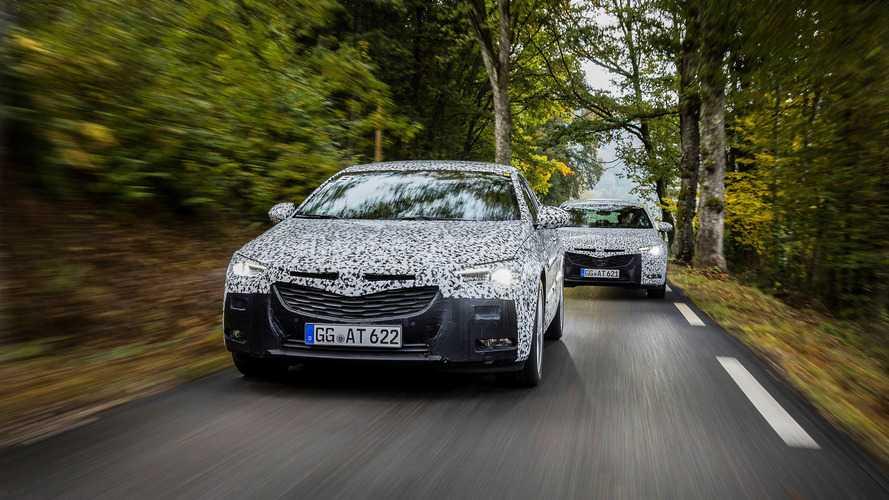 L'Opel Insignia poursuit son développement