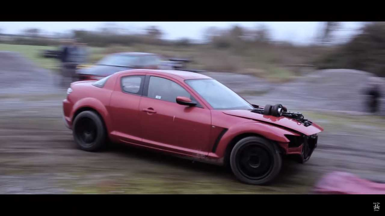 Mazda RX-8 With Cummins Diesel Engine