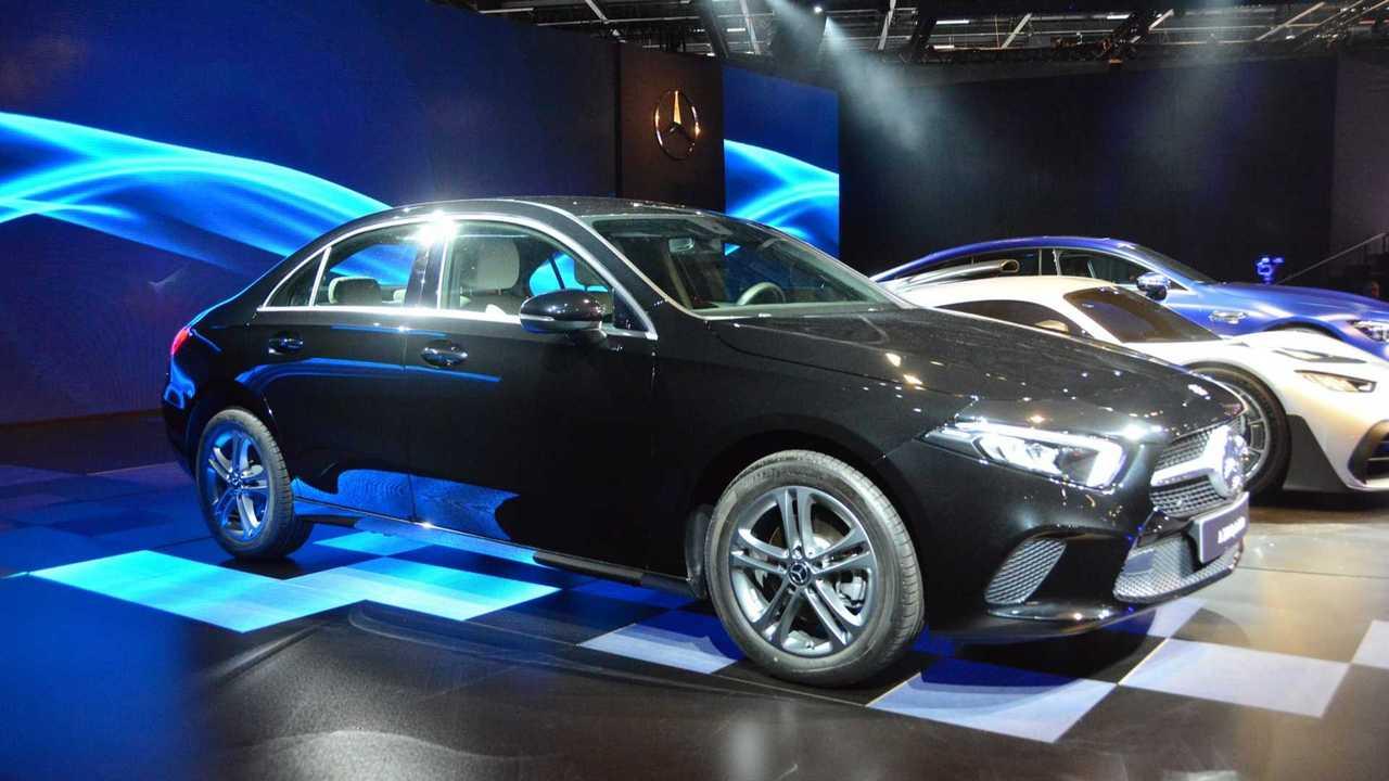 Mercedes-Benz Classe A no Salão de SP