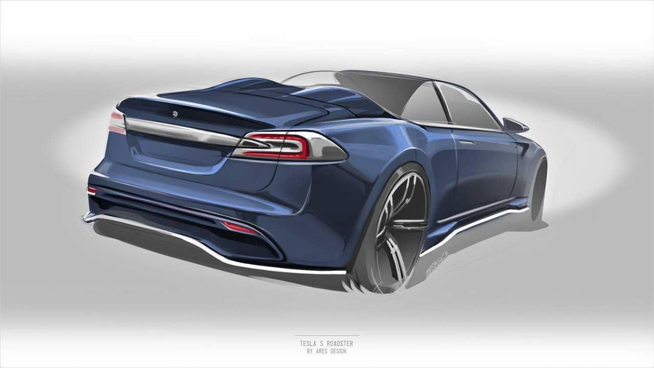 Tesla Model S par Ares Design