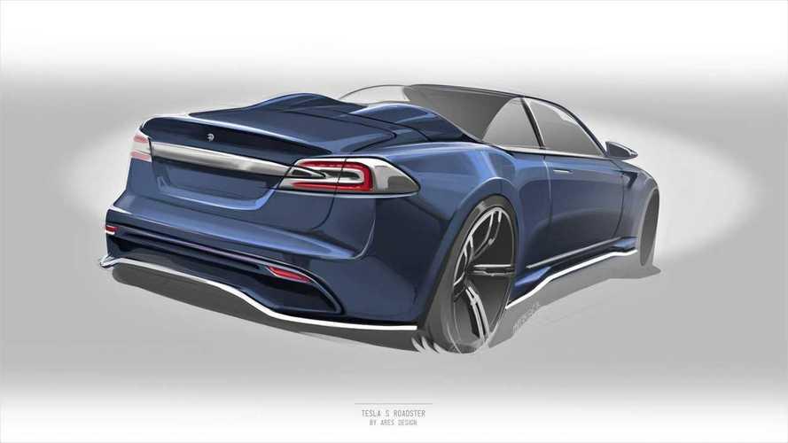 Ares Design va transformer une Tesla Model S en roadster