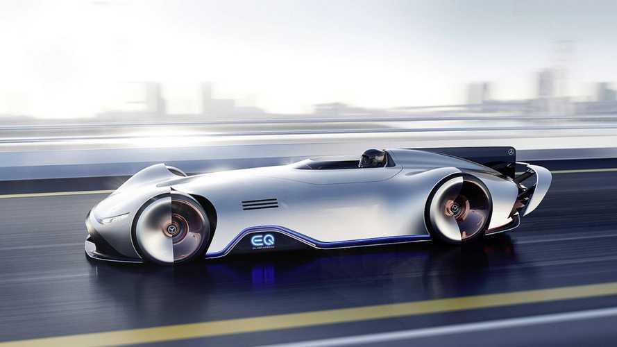 Mercedes EQ Silver Arrow konsepti başka bir dünyadan gibi
