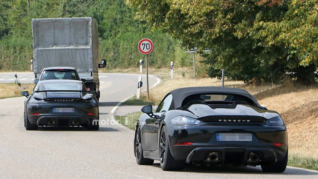 Porsche 718 Cayman GT4 et 718 Boxster Spyder
