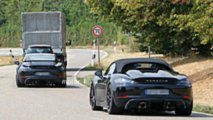 Porsche 718 Cayman GT4 and 718 Boxster Spyder