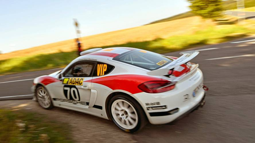 Porsche Cayman GT4 Clubsport Rally Concept Gets WRC Debut