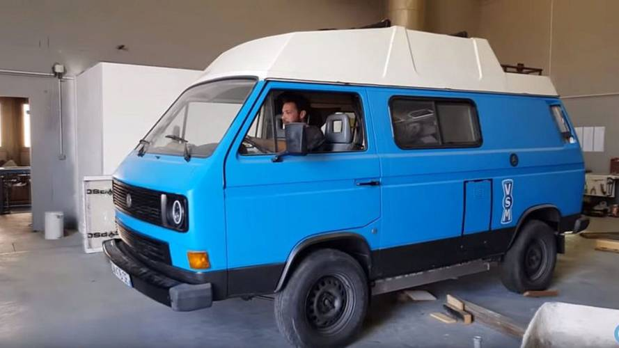 Check Out This Tesla-Powered VW Electric Camper Van