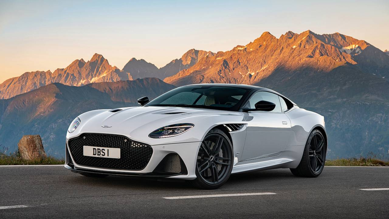 Aston Martin DBS Superleggera First Drive Whats In A Name - How many aston martin dbs were made