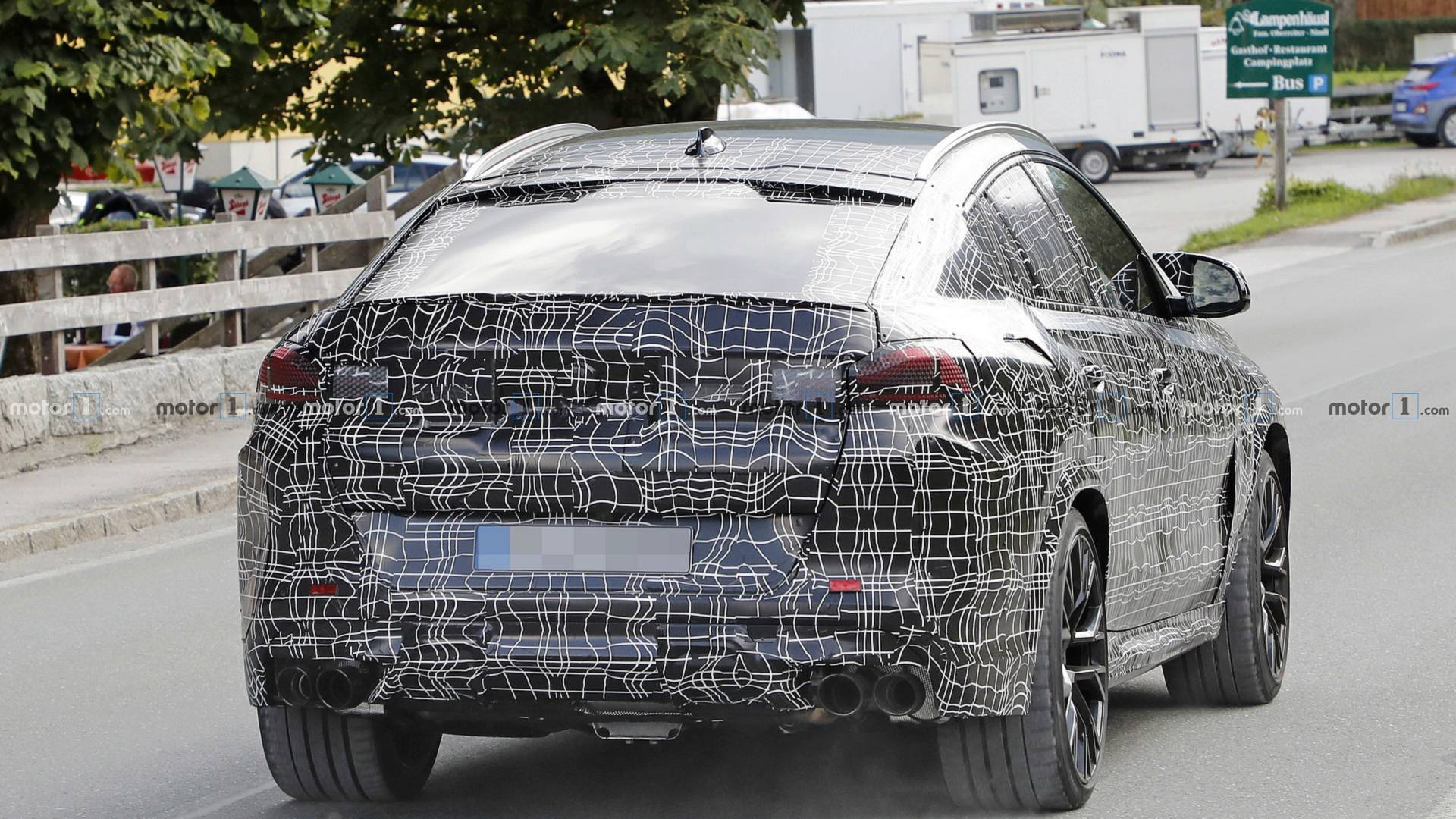 2019 - [BMW] X6 III (G06) - Page 3 2020-bmw-x6-m-spy-photo