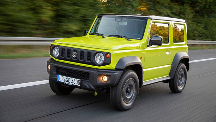 New Suzuki Jimny waiting list is getting really long