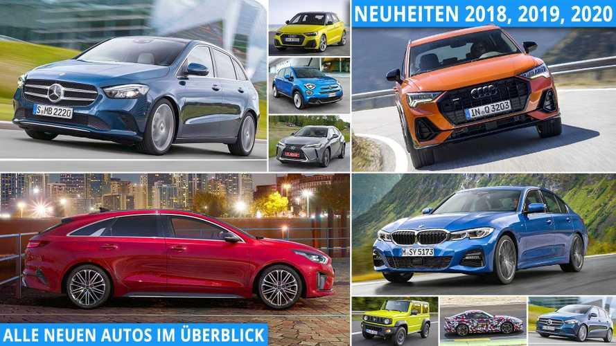 Neuheiten 2019, 2020: Alle neuen Autos im Überblick (Update)