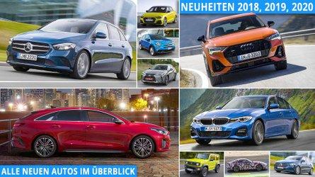 Neuheiten 2019, 2020: Alle neuen Autos im Überblick