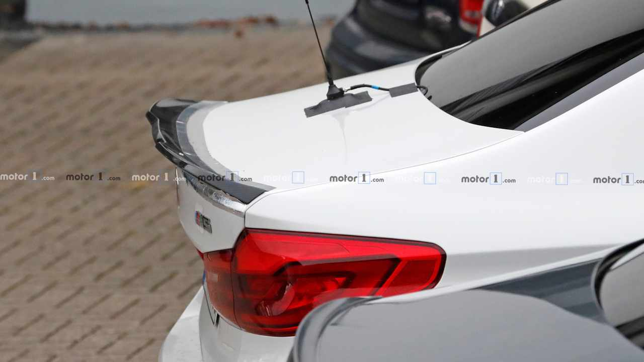 BMW M5 CS Spy Photo