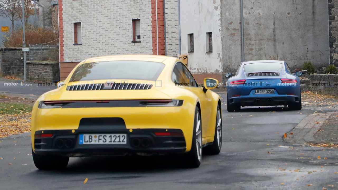Porsche 911 Old Vs New