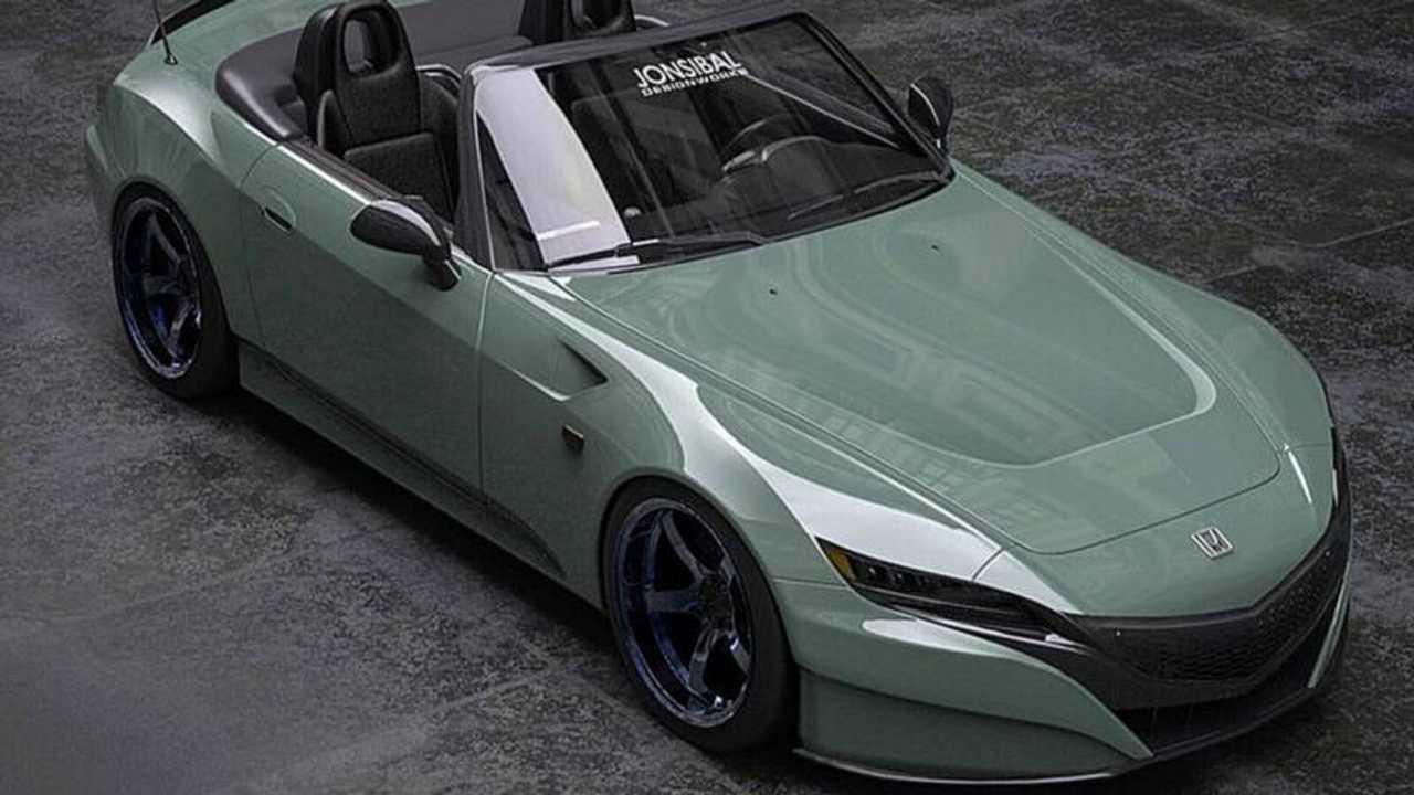 Honda S2000 rendering