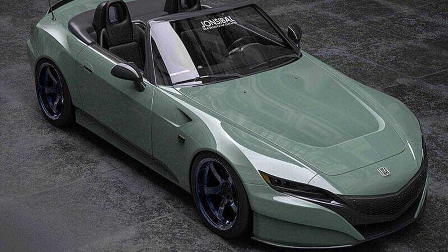 NSX inspirálta frontrésszel ütne nagyot a Honda S2000 utód
