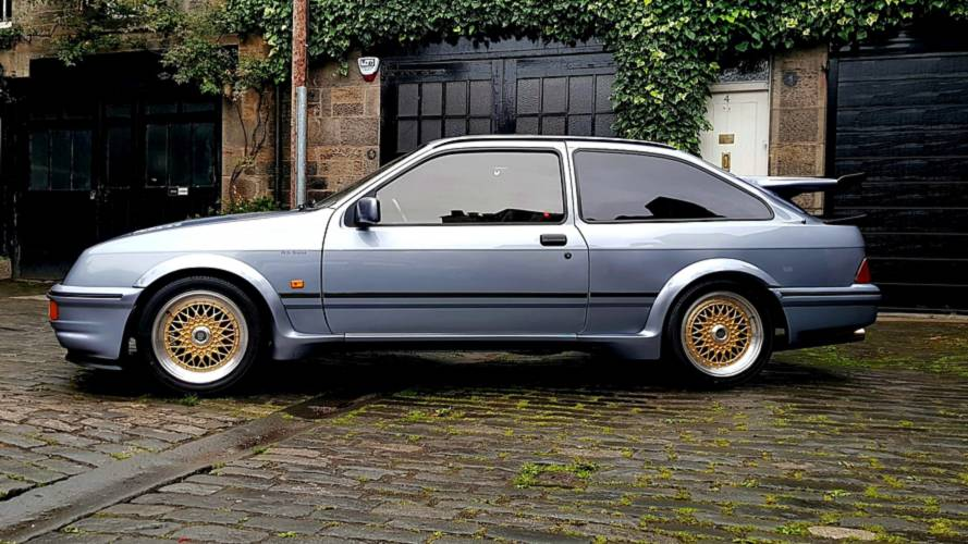 Rare DTM-Tuned Ford Sierra RS500 Heading For Auction