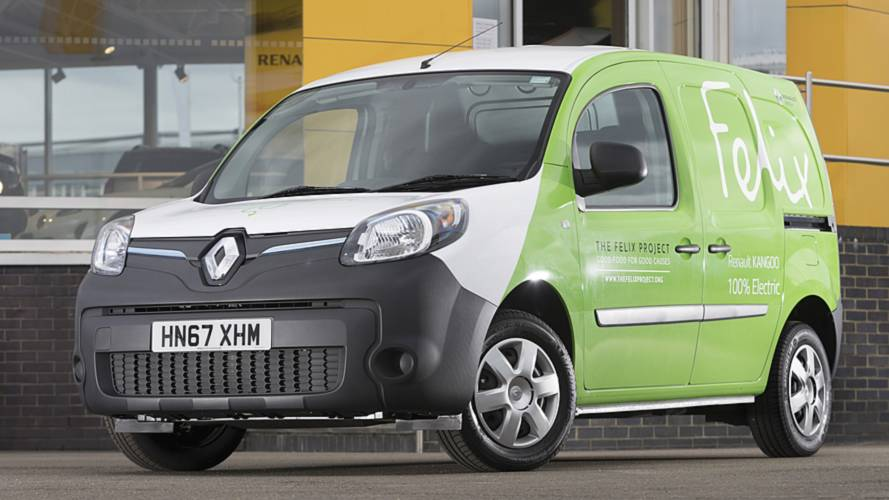 The Felix Project's Renault Kangoo Z.E. vans