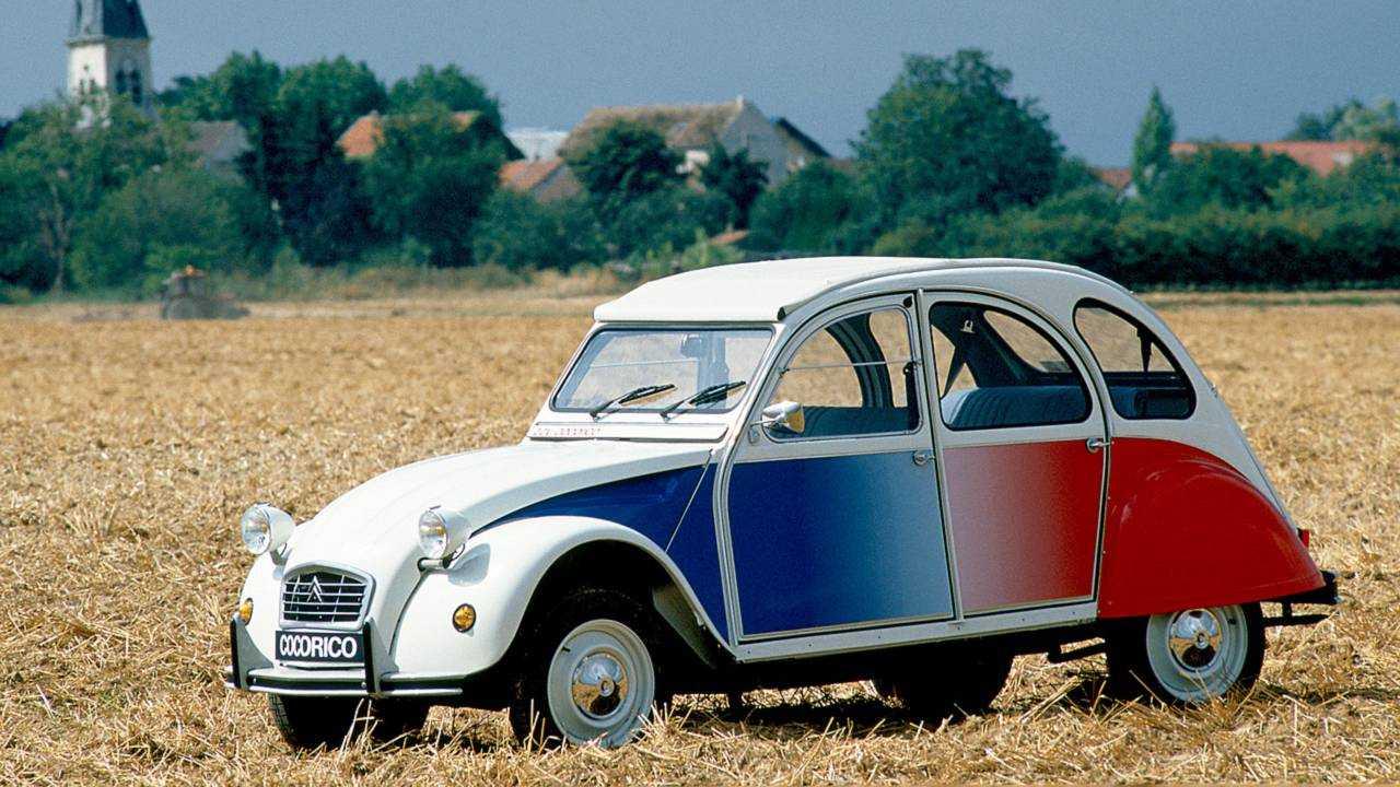 Platz 1: Citroën 2CV