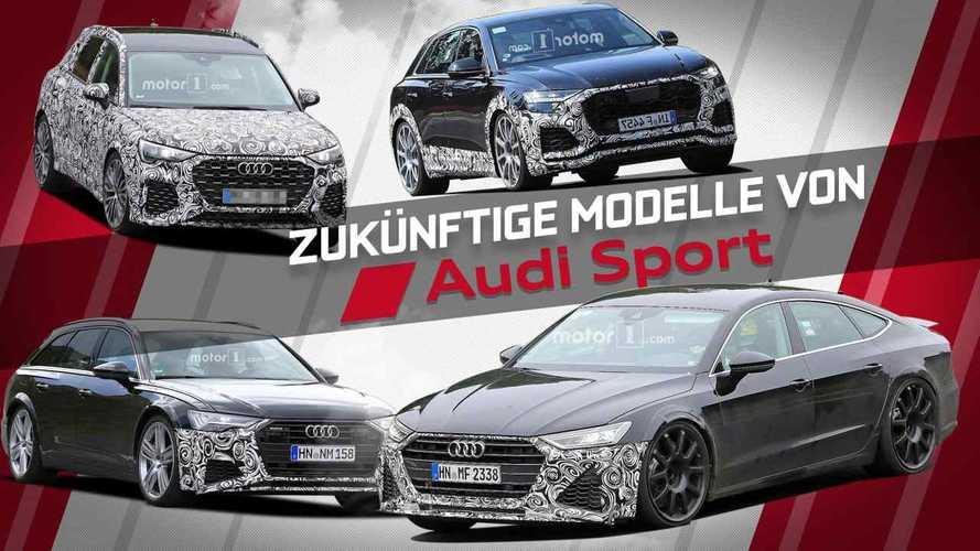 Das sind die Audi-Sportmodelle der Zukunft