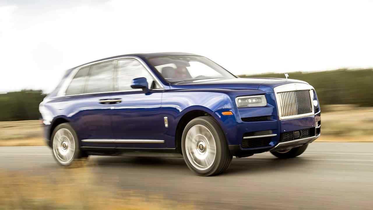 Rolls-Royce Cullinan (5,34 metros)
