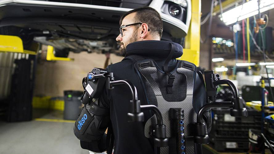 Ford Merges Man And Machine With New Assembly Line Exoskeletons