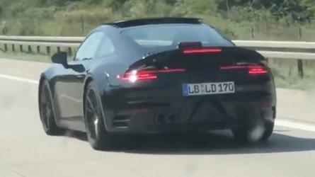 VIDÉO - La future Porsche 911 surprise sur l'autoroute !