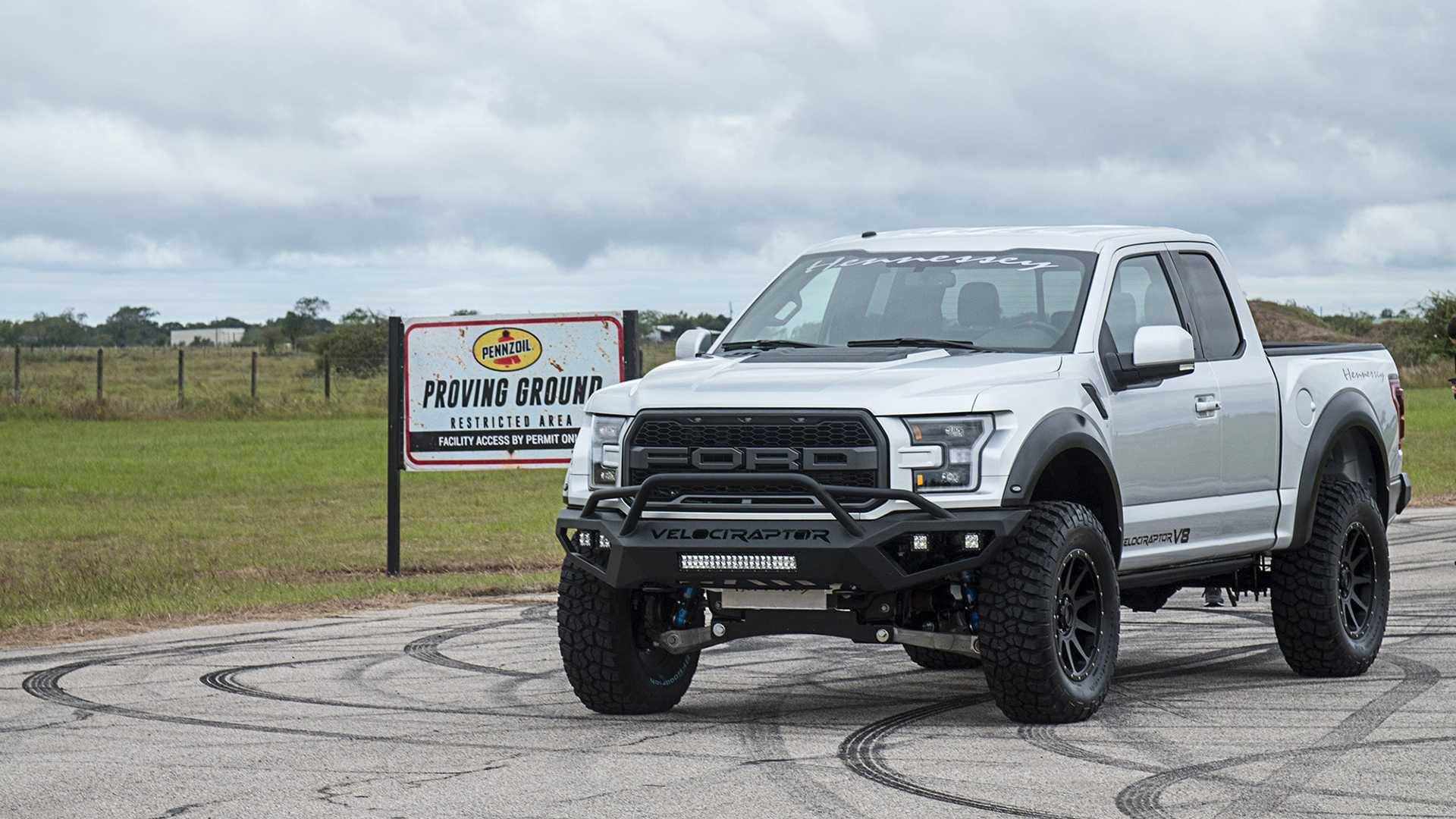 Hennessey Drops A V8 In A Raptor To Create The Velociraptor V8