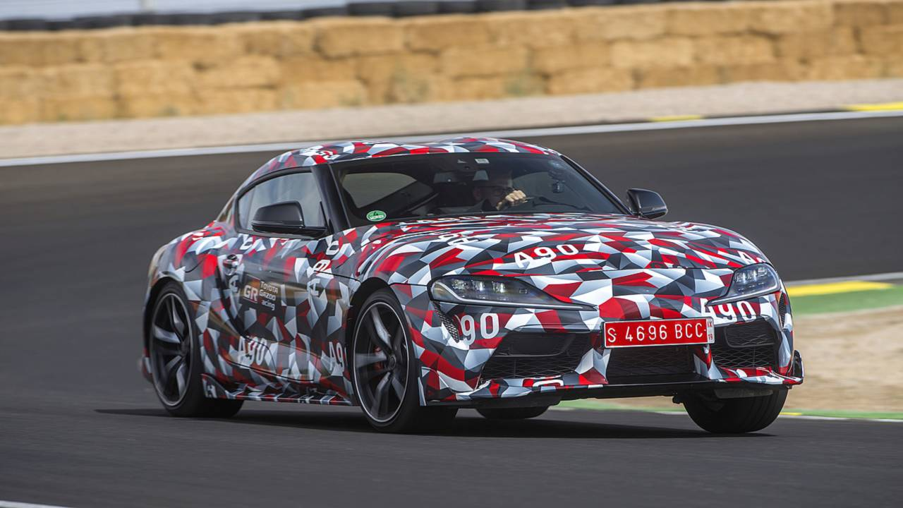 2019 Toyota Supra Prototype First Drive Return Of Toyotas Superstar 2002 Bmw X5 Motor Wiring Harness