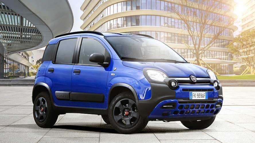 Fiat Panda Waze umfährt den Stau