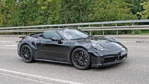 Porsche 911 Turbo Convertible Spy Shots