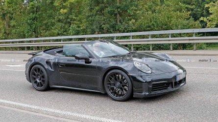 La future Porsche 911 Turbo Cabriolet se promène