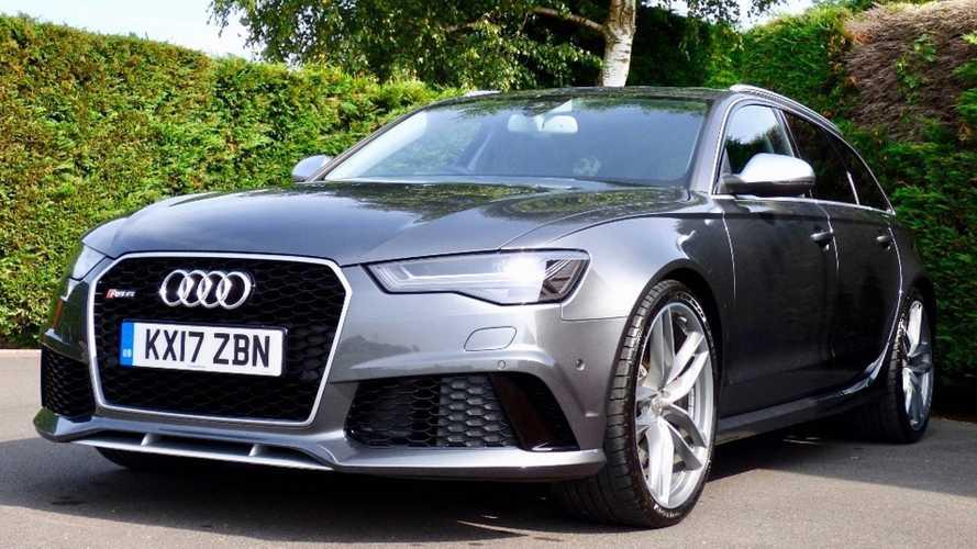 Audi RS6 Avant принца Гарри выставили на продажу