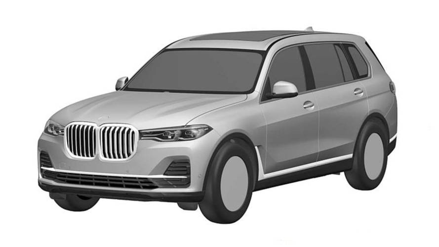 This Is It: 2019 BMW X7 Leaked In Patent Images