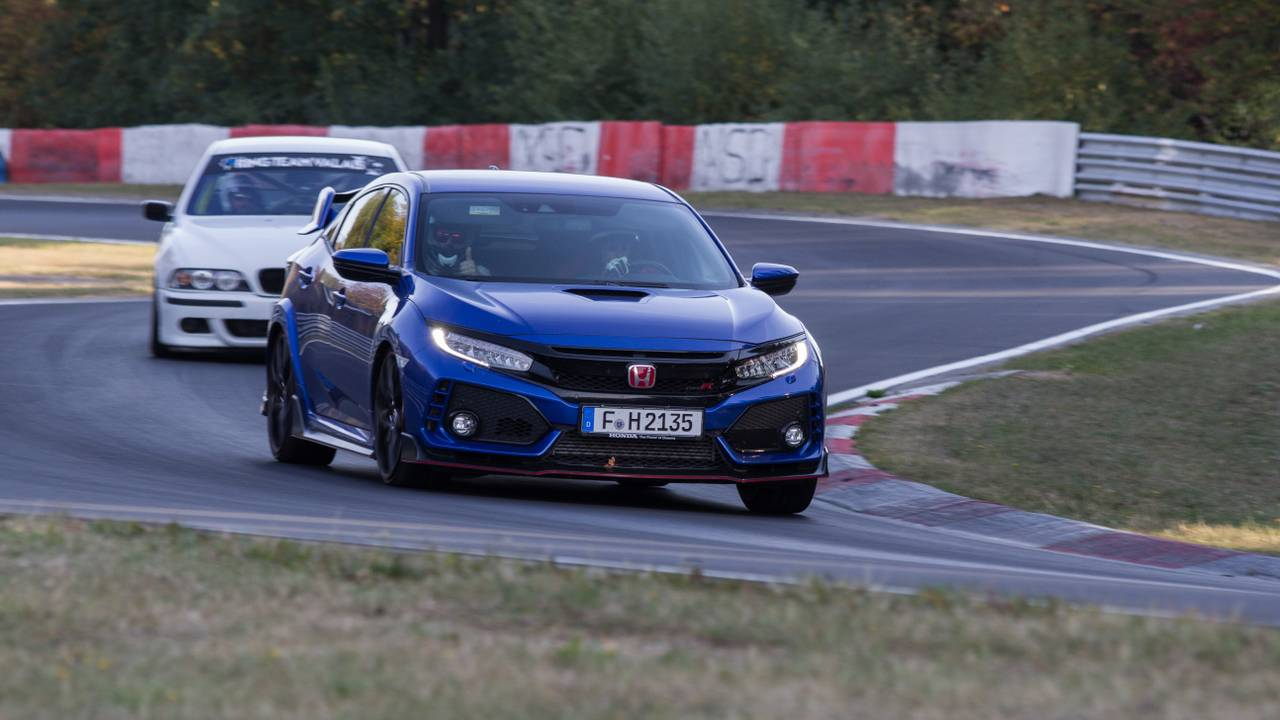 Essai, Honda Civic Type R, Nürburgring