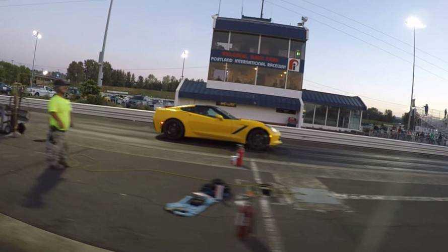 Watch Tesla Model 3 Performance Crush Corvette At The Strip