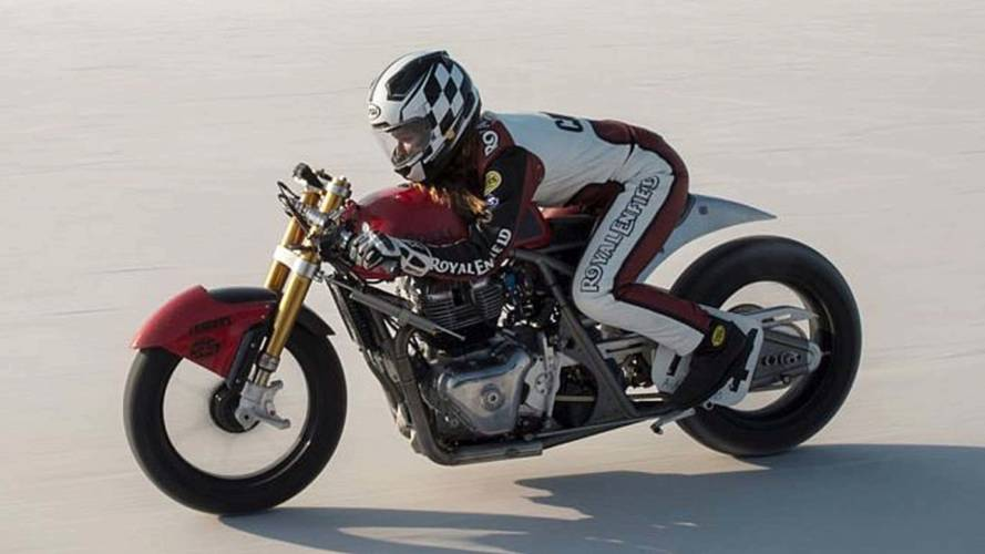 18-Year Old Sets Speed Record on New Royal Enfield