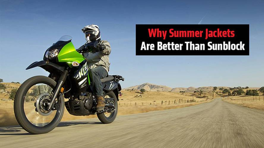Why Summer Jackets Are Better Than Sunblock