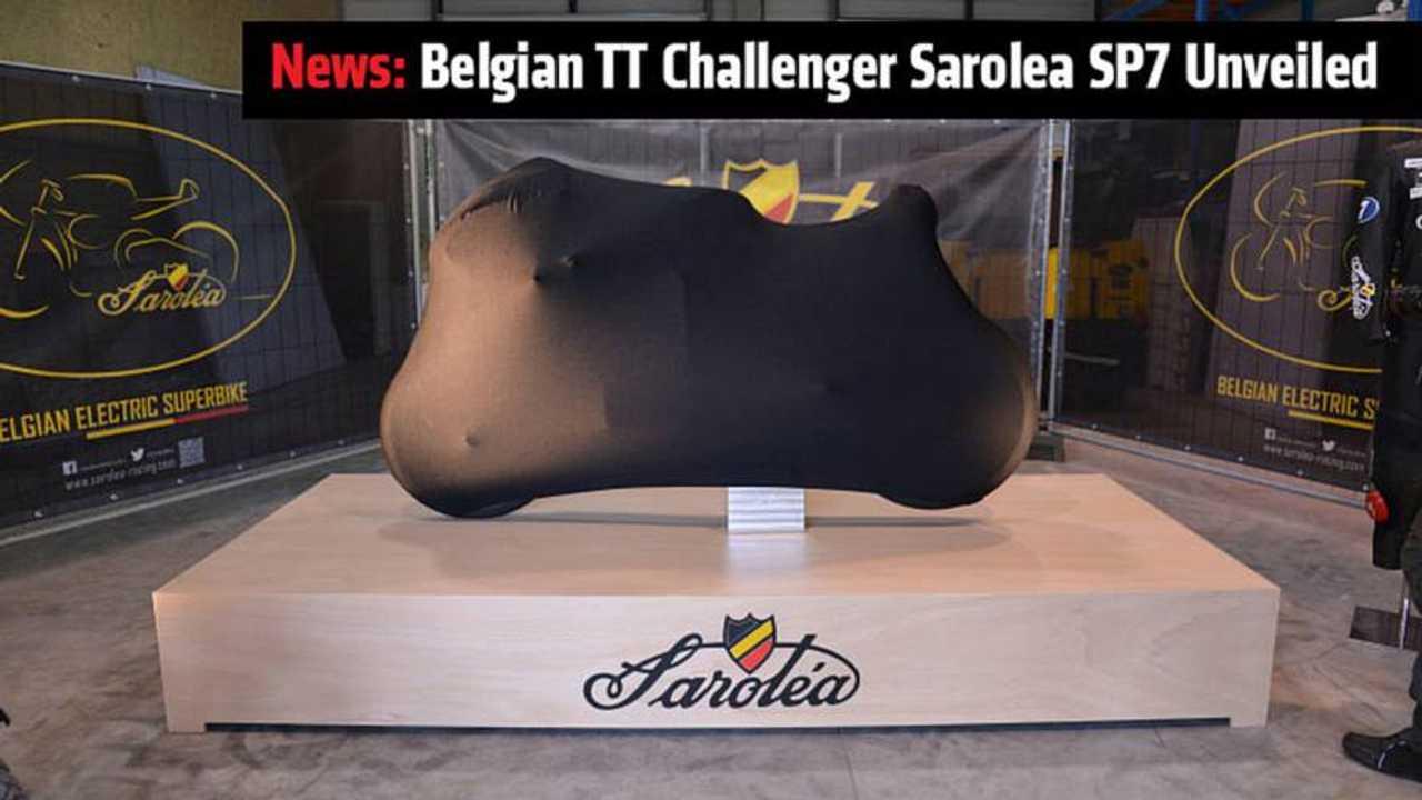 News: Belgian TT Challenger Sarolea SP7 Unveiled