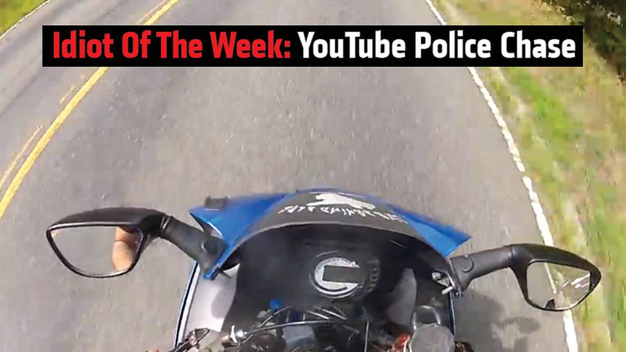 Idiot of the Week: YouTube Police Chase