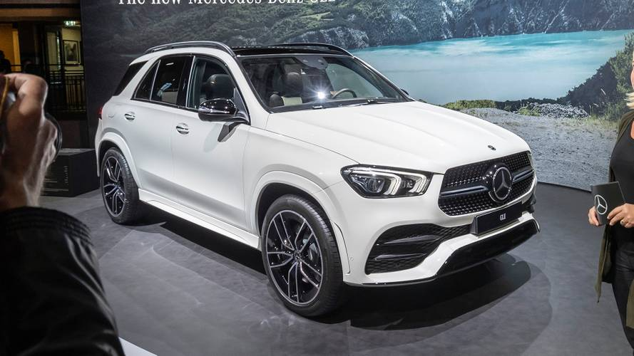 2020 Mercedes-Benz GLE-Class Paris Reveal
