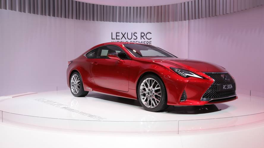 2019 Lexus RC subtle facelift debuts in Paris