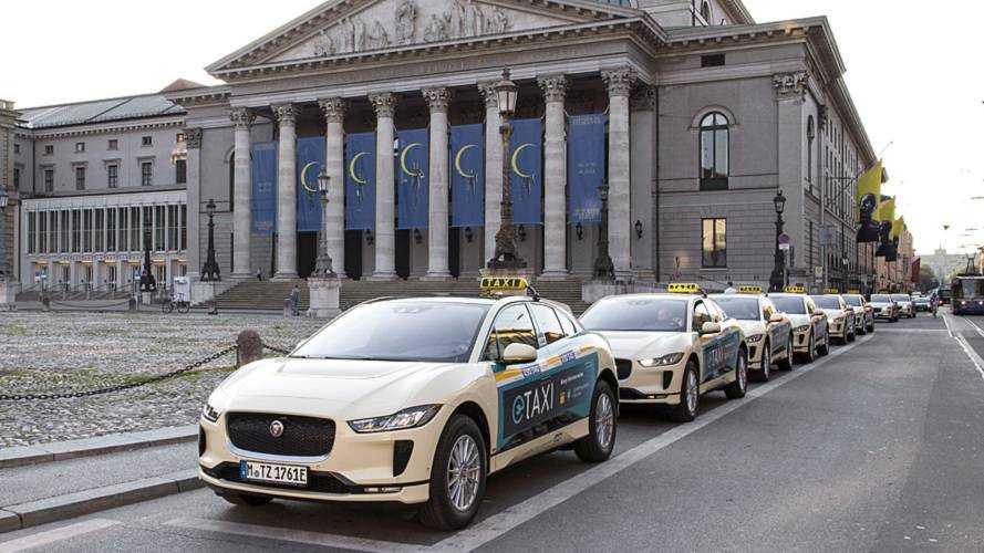 Jaguar I-Pace, nouveau taxi chic des Munichois