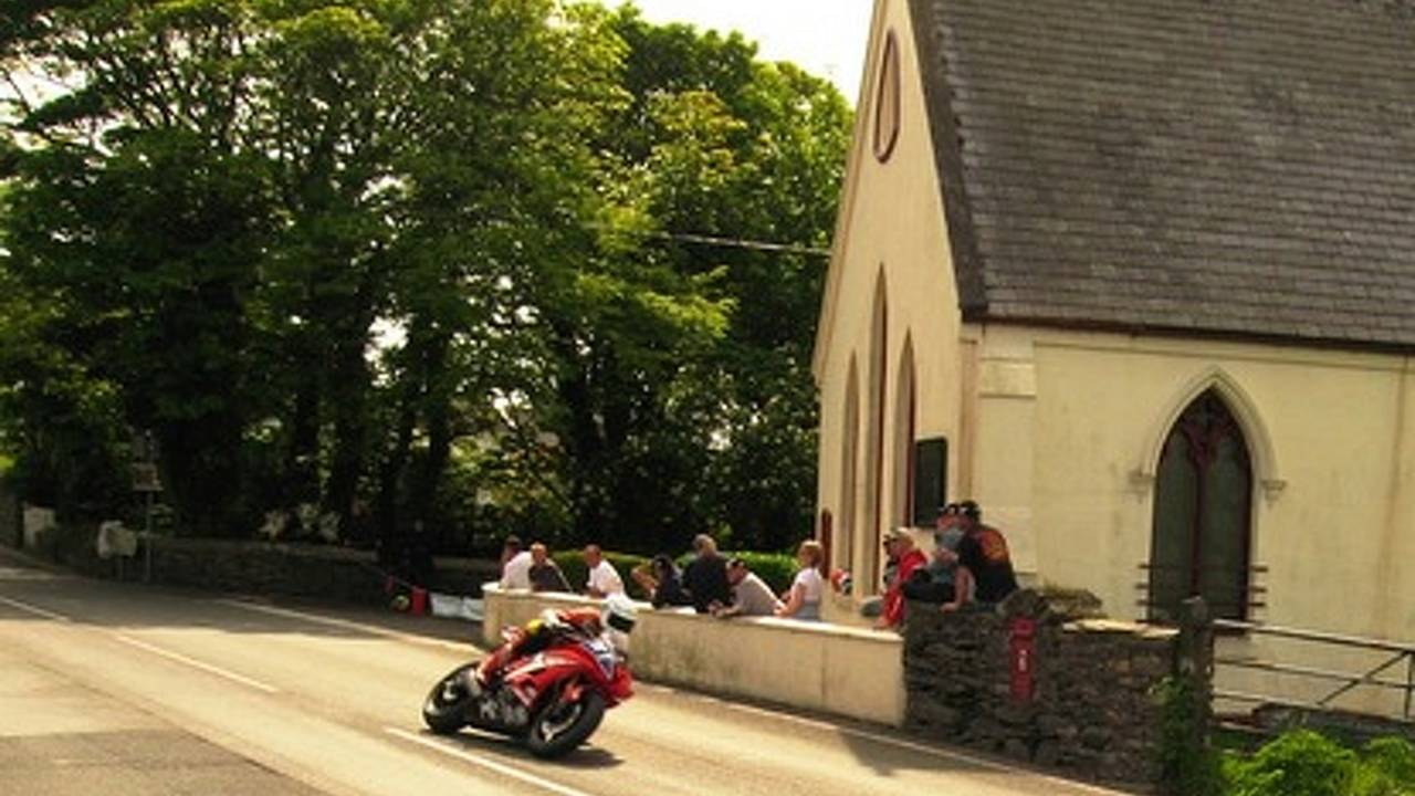 Six American riders racing 2009 Isle of Man TT