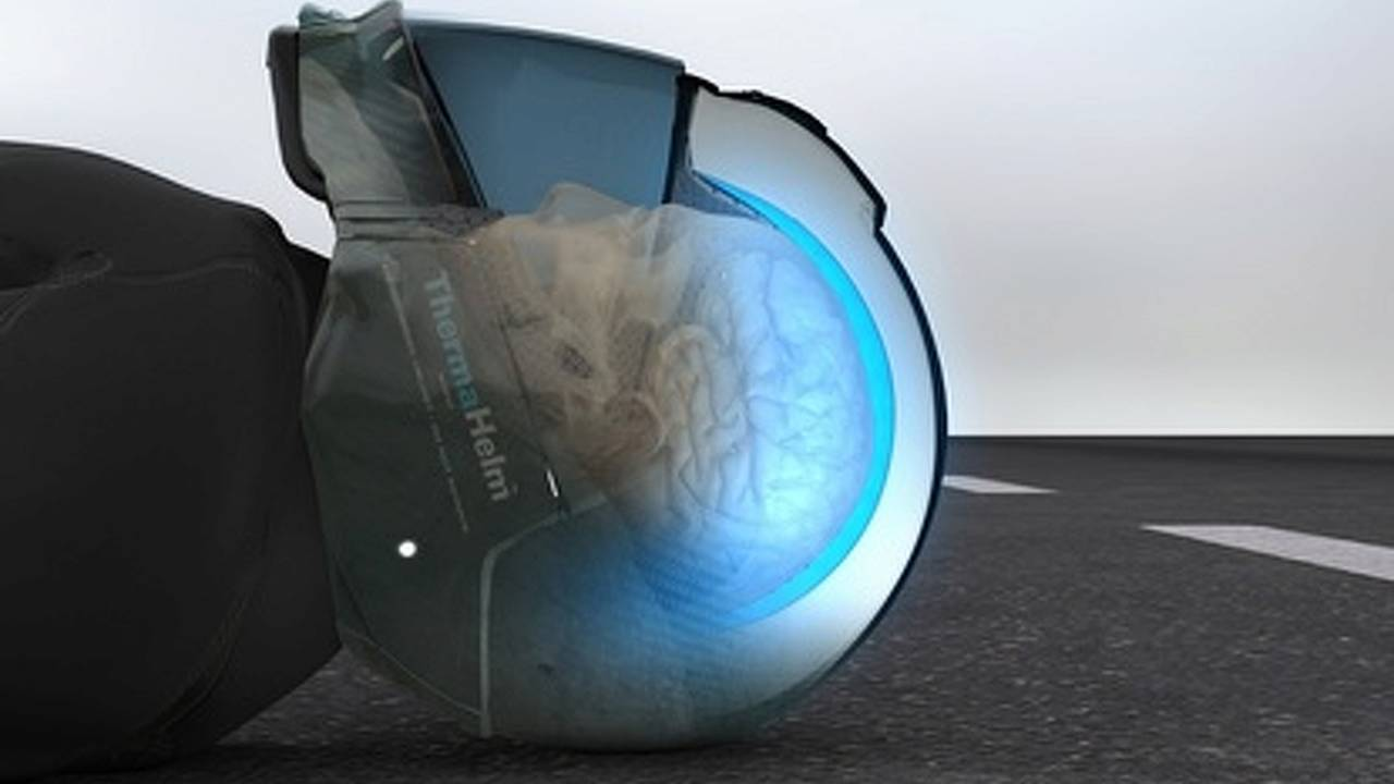 ThermaHelm wants to save your life by cooling your brain