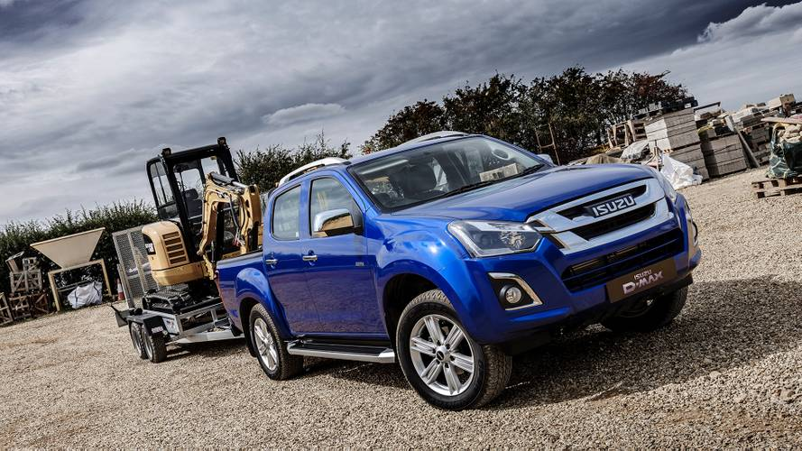 Isuzu unveils lightly revamped D-Max pick-up for 2019