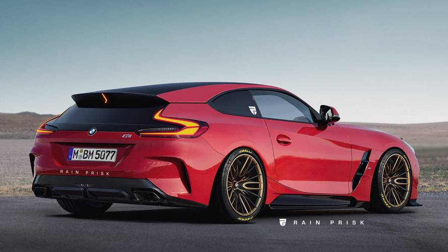 BMW drafted a Z4 Coupe, but production car not likely