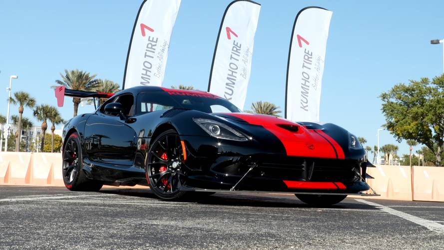Dodge Viper ACR Laguna Seca Dream Giveaway